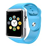 Reepud Blue Smart Watch A1 Bluetooth Smartwatch Compatible with All Mobile Phones for Boys and Girls...