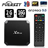 X96 Mini TV Box 2GB RAM 16GB ROM Android 9.0 TV Box with Amlogic S905W WiFi 4K/HD 3D Smart X96 Mini TV Box by Puersit