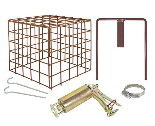 Preisvergleich Produktbild Koll Living Wühlmausfalle Kieferle W2 + Halter + Schelle + Schutzkorb