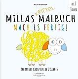 MILLAS KRITZEL MALBUCH - Mach es Fertig!: Kreatives kritzeln ab 2 Jahren (Malbuch Kinder) - Milla Petersson