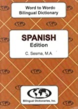 Spanish edition Word To Word Bilingual Dictionary