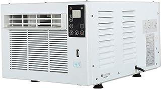 AOCT SHOP Nuevo Mini Aire Acondicionado Portátil con Mosquitero con Control Remoto, Control Táctil LED, Ventilador De Enfriamiento, Enfriador De Aire De Espacio Personal, Temperatura Ajustable