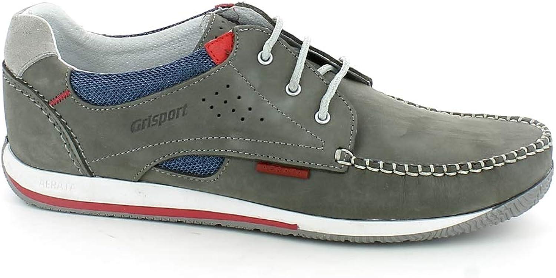 greyport Men's Lace-Up Flats Grey Grey