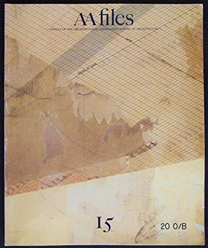 AA Files. Summer 1987, N. 15