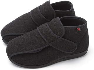 Nwarmsouth Chaussures à Coussin d'air pour diabétiques,Plus Chaussures en Velours Vieux Coton, Chaussures Pouce valgus-37_...