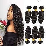 3 faisceaux de cheveux Brésiliens 20 22 24 pouces bon marché Onde Lâche cheveux Brésilien virginal tissages ventes cheveux...