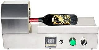 PVC Shrink Capsules Sealing Machine Heat Shrink Sleeves Sealing Machine Digital Display Hot Air Shrinking Bottle Sleeves Sealer Machine for Max Diameter 70mm 110-120v
