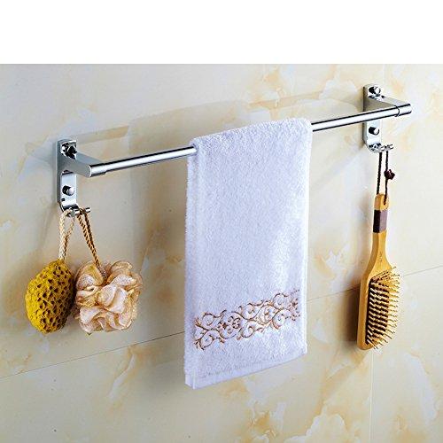 Barra de toalla/pared colgante con gancho baño-E