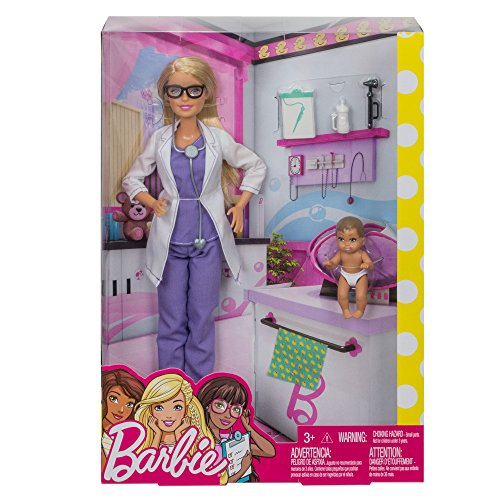 Barbie FPR44 Baby Doctor & Barbie Fashion Dolls, Multicoloured