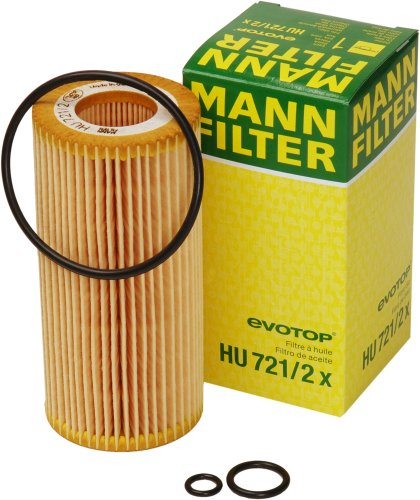 Mann-Filter HU 721/2 X Metal-Free Oil Filter