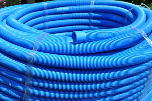 Pool-Profi24 - 6m Pool-Schlauch 32mm Durchmesser   Schwimmbadschlauch UV-beständig und teilbar (Blau)