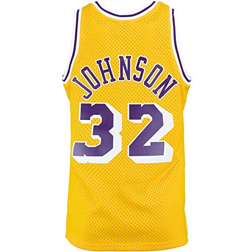 Mitchell & Ness Swingman Magic Johnson L.A. Lakers 84/85 - Camiseta