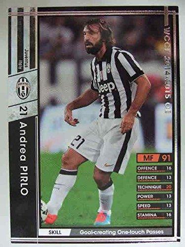 WCCF 14-15白黒カード A076 アンドレア・ピルロ