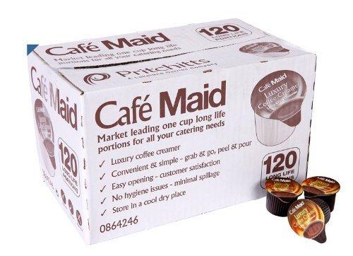 120 Café  criada de lujo porciones de café Creamer, larga vida individual