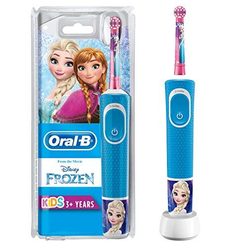 Oral-B Kids - Cepillo Eléctrico Recargable con Tecnología de Braun, 1 Mango de...