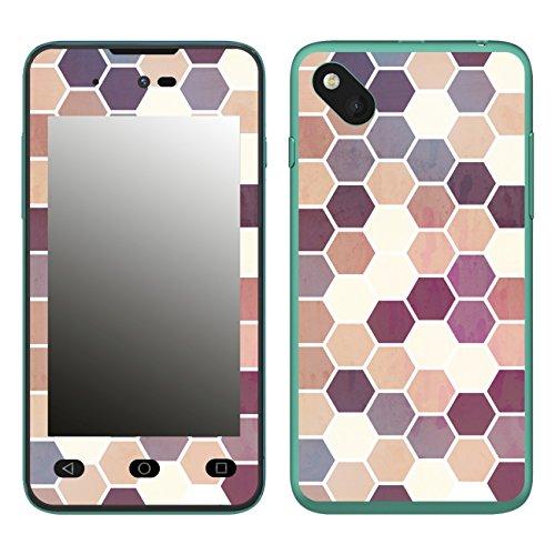 Disagu SF-106598_1208 Design Folie für Wiko Sunset 2 - Motiv Polygone 05