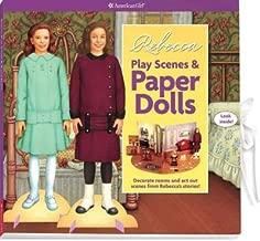 Rebecca Play Scenes & Paper Dolls (American Girl) (Paperback) - Common