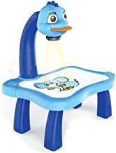 Ganghuo Kind Smart Projector Bureau Met Licht en Muziek Leren Schilderen Machine Speelgoed Creatieve Kinderen Vroege Onder...