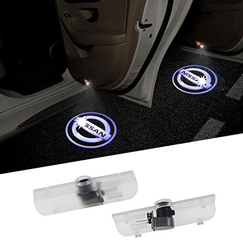 2PCS Logo Projector Car Door LED Lighting Entry Projector for Nissan