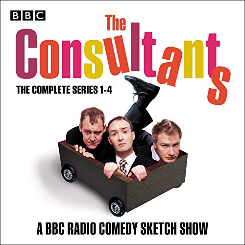 The Consultants: The Complete Series 1-4 audiobook cover art