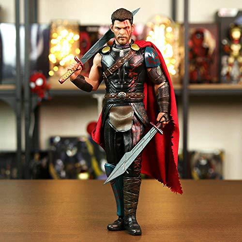 Action Figure Thor: Ragnarök Marvel Raytheon 3 Character Model Statue 30cm
