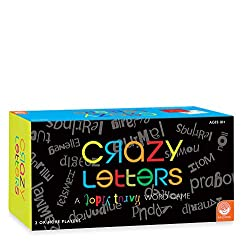 Crazy Letters board game box