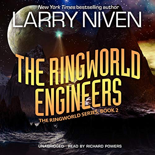 The Ringworld Engineers audiobook cover art
