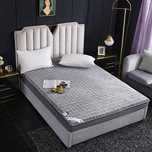 Thick - Colchón impermeable Tatami plegable antideslizante - Colchón de futón - Grueso plegable - Colchón suave - Ideal para estudiantes, Dormitory - Color: 5 - Dimensiones: 90 x 190 cm