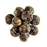 Tè Yunnan perle di drago - Tè nero forte al malto - Tè in perle direttamente dallo Yunnan - Tè golden qualità speciale 50g