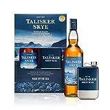 Talisker Skye Single Malt Scotch Whisky and Hipflask Gift Set