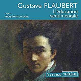 L'éducation sentimentale audiobook cover art