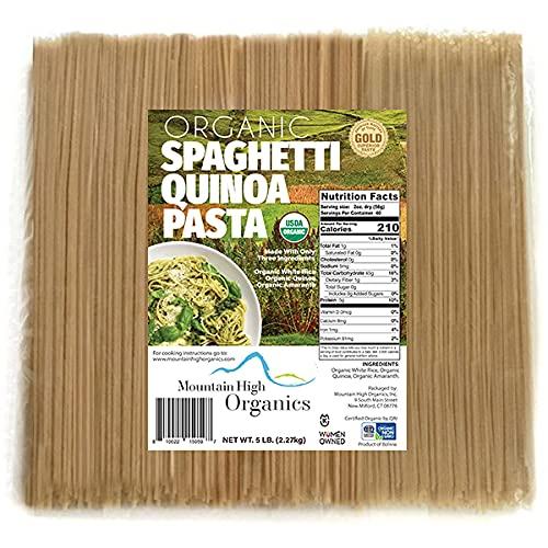 Challenge the lowest price Mountain 100% quality warranty High Organics Gluten 5 Spagetti Free Lb