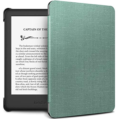 INFILAND Kindle 10th Gen 2019 Case, Shell Case Cover Auto Wake Sleep Compatible with All-New Kindle 10th Generation 2019 Release Only, Mint Green