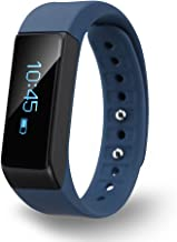 Diggro i5 plus Bluetooth Smart Bracelet Watch Wristband Sports Fitness Tracker Pedometer Step Counter Tracking Calorie Health Sleep Monitor for Android IOS, Blue