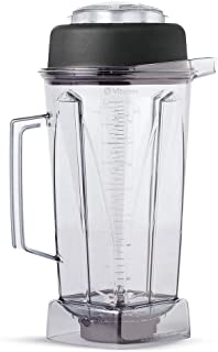 Vitamix 212-1003 756 64 oz Commercial NSF Container with Ice Blade and Lid, 64oz, Black