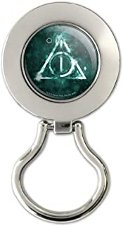 Harry Potter Deathly Hallows Logo Magnetic Metal Eyeglass ID Badge Holder