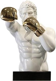 Chapman sculptures Boxer Statue 18/cm peint /à la main