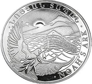1 oz silver armenian noah's ark coin