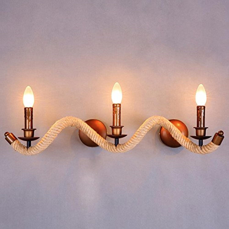 PYL-die nordischen modernen minimalistischen retro - stil, balkon treppe lampe wand lampe gedrehten seil