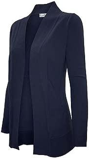 Enimay Women's Low Hip Open Cardigan