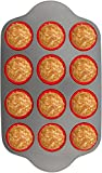 Silicone Muffin Pan With Steel Frame by Boxiki Kitchen. Professional Non-Stick Baking Muffin Mold. Includes BPA-Free Bakeware and 12 Silicone Muffin Cups.