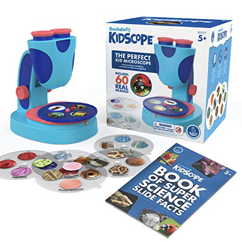 Educational Insights GeoSafari Jr. Kidscope, Microscope for Kids, Includes Real Images, STEM Toy, Ages 5+