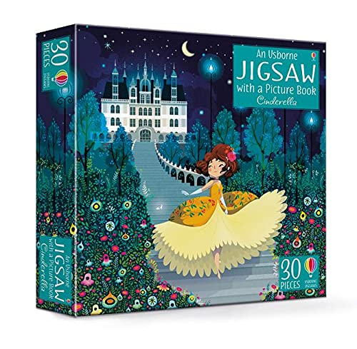 An Usborne Jigsaw with a Picture Book Cinderella (Usborne Jigsaws)