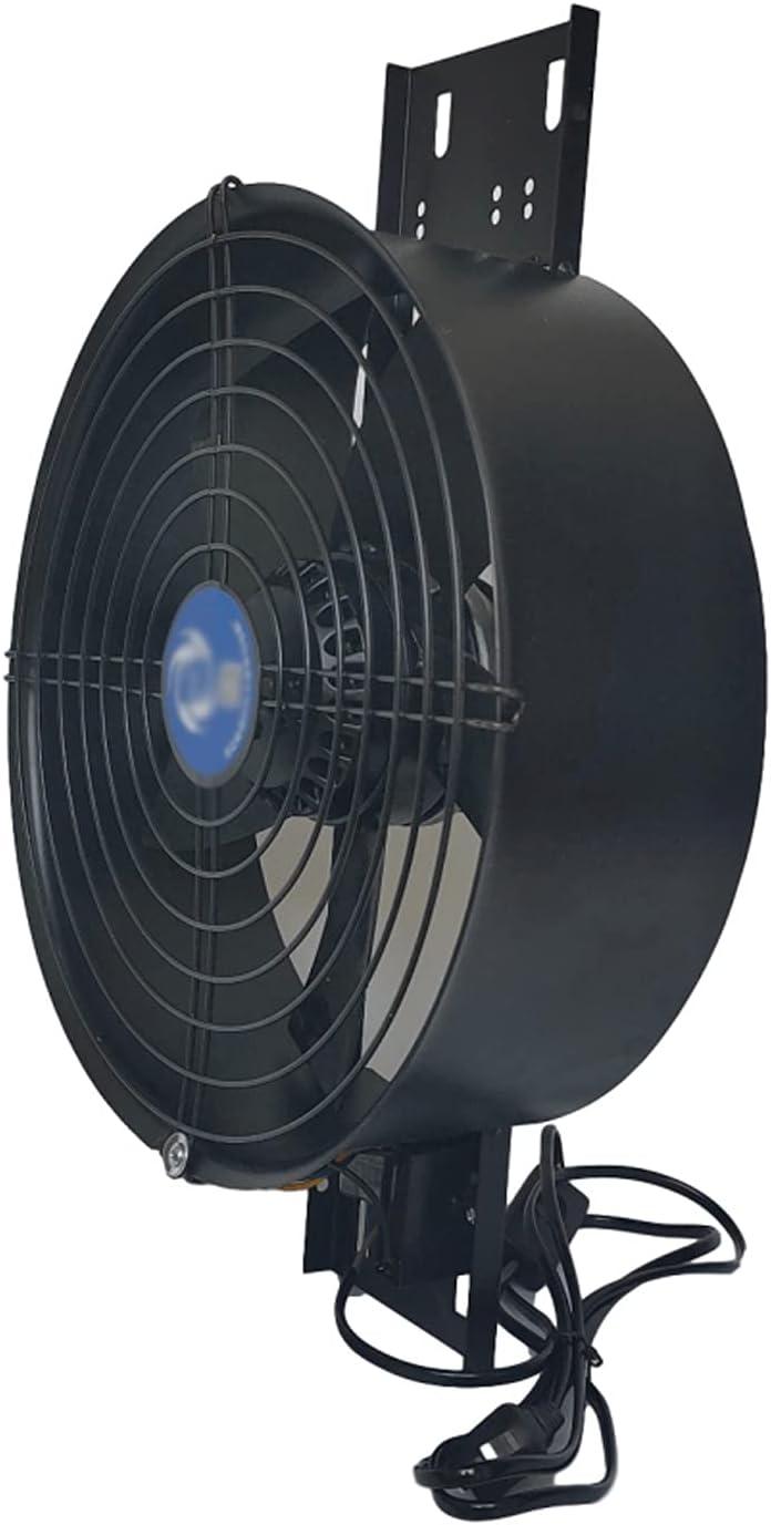 Ventilador extractor Potente ventilador de ventilación de la cocina Ventilador de flujo axial del rotor de 8