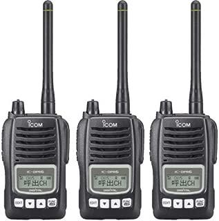 アイコム デジタル簡易無線(登録局)5Wタイプ IC-DPR6(3台セット)