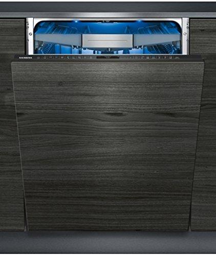 Siemens iQ700vollständig integriertes sx778d16te 13places A + + + Spülmaschine–Geschirrspülmaschinen (komplett integriert, Full Size (60cm), schwarz, griffig, Siemens Home Connect, TFT)