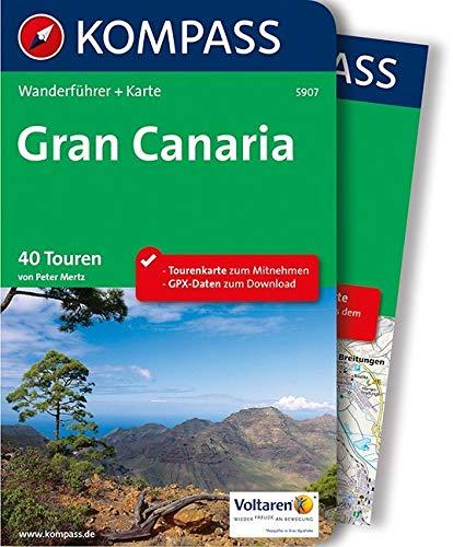 KOMPASS Wanderführer Gran Canaria: Wanderführer mit Extra-Tourenkarte 1:50.000, 40 Touren, GPX-Daten zum Download