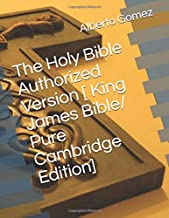 authorized king james bible pure cambridge edition