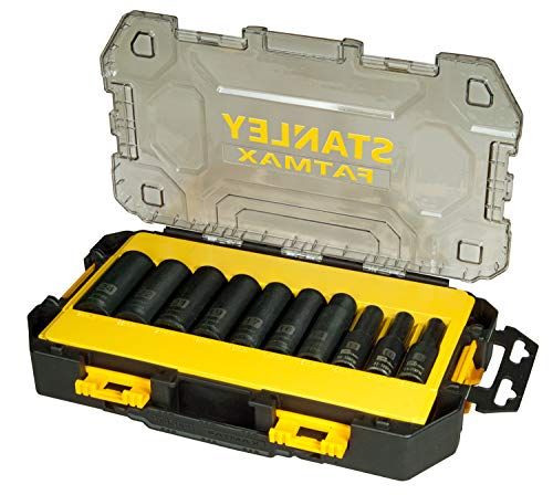 Stanley FatMax FMHT0-74720 Mini-Toughbox (1/2 inch dopsleutelset, lang, 17-delig