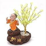 Feng Shui Money Treei Fortune Albero di Lucky Decorazione Zen impressioni cristallo variopinto Bonsai Fortune Money Tree for buona fortuna dono spirituale Decor Home Office per l'ufficio a casa